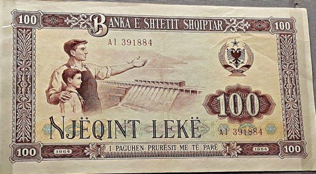 Billet de 100 Lekë
