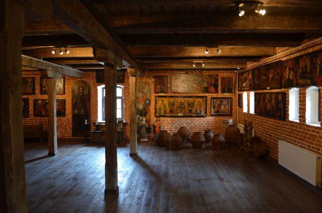 Salle du musée Radomyshl