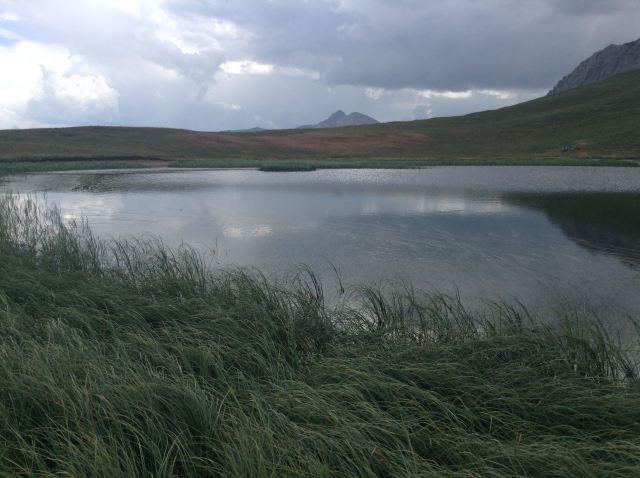 Lac près du Mont Thabor