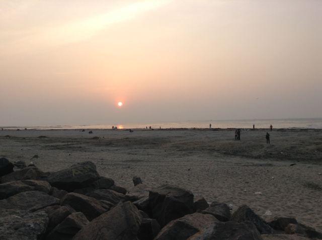 Coucher de soleil Cochin