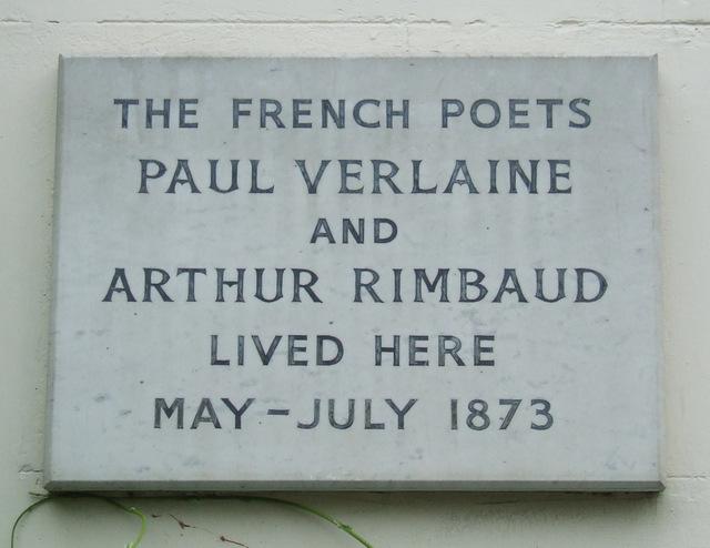 Verlaine and Rimbaud lived here