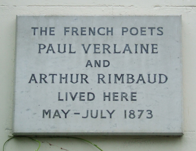 Verlaine and Rimbaud lived here