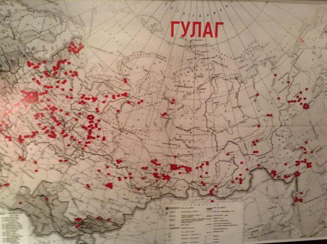 Carte du Goulag Tartu