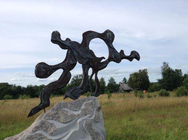 Parc statues