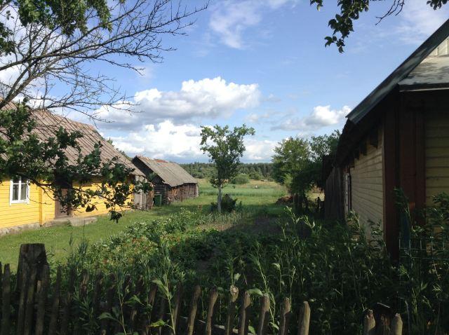 Village lituanien