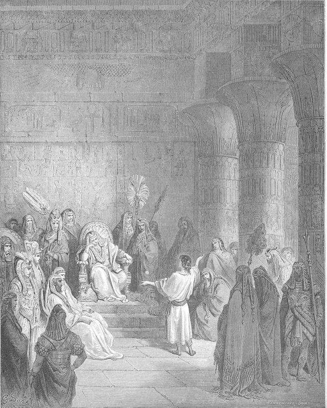 Jospeh interprète les rêves du Pharaon