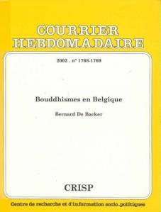 Couverture Bouddhismes en Belgique