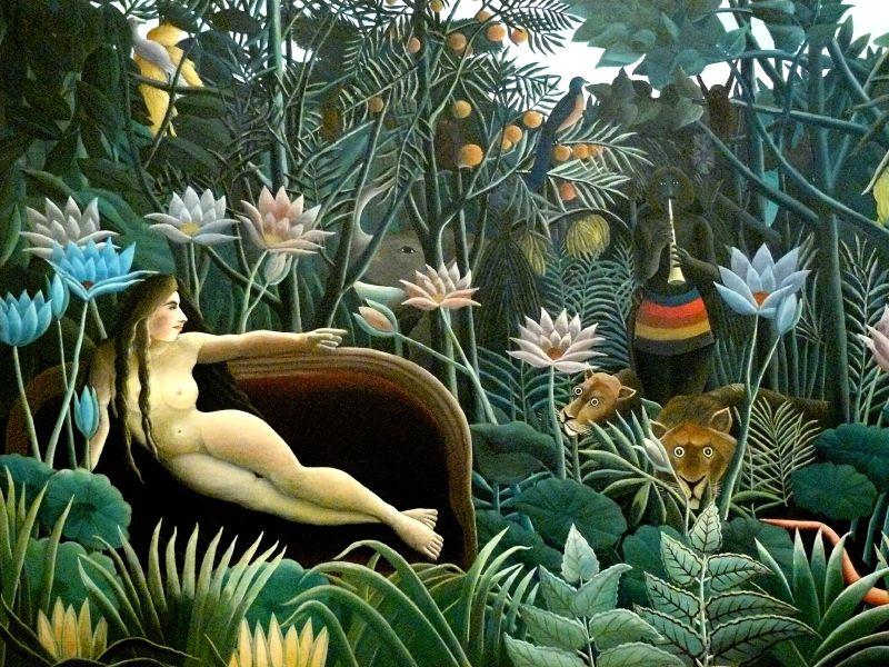 Rousseau Le rêve