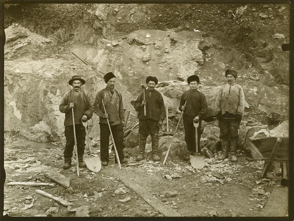 Travailleurs à Kirkenes en 1907