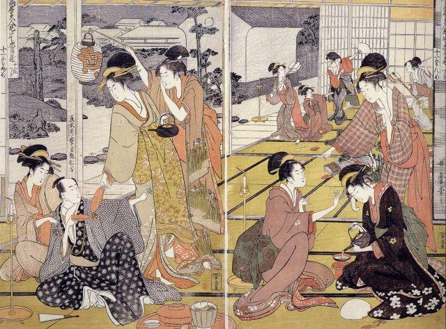UTAMARO-Chushingura