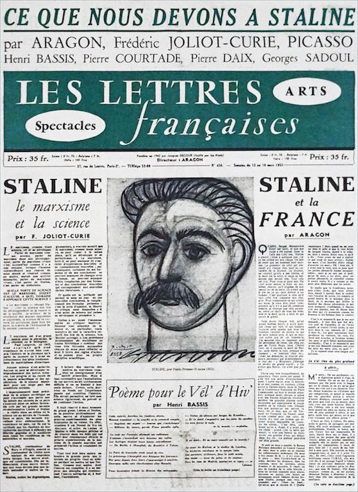 Lettres françaises Staline