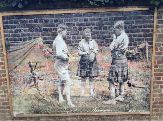 Soldats écossais