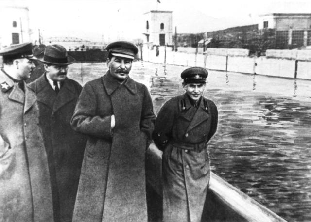 Voroshilov, Molotov, Stalin,Yezhov