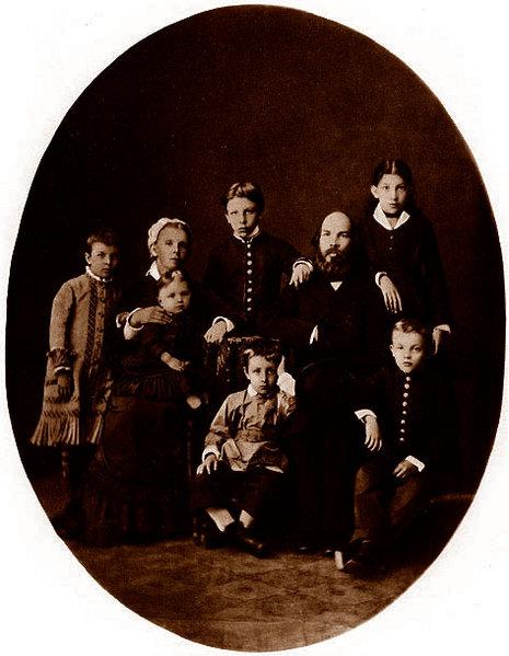 La famille Oulianov 1879