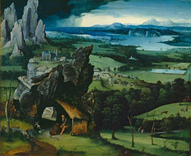 Patenier paysage avec Saint Jérôme