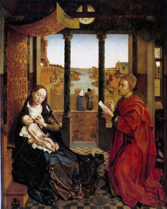 Saint Luc dessinant la Madone
