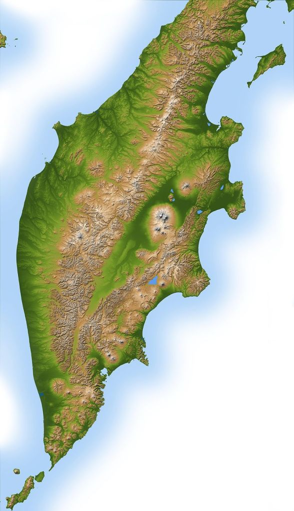 Carte Kamchatka