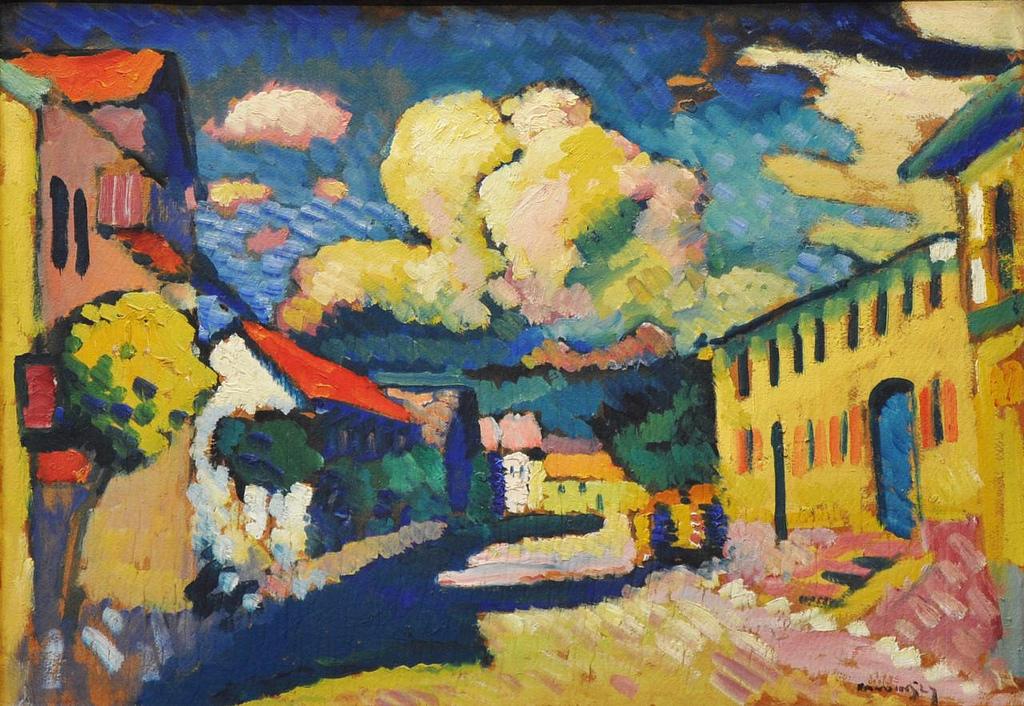 Kandinsky rue de Murnau 1908