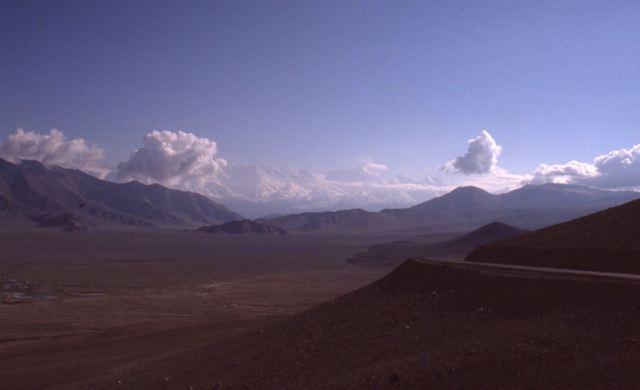 Vue sur le Mustdagh Ata